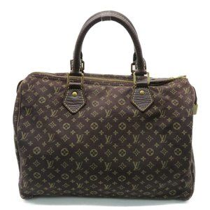 ✨LOUIS VUITTON✨👛 Speedy 30 Handbag Monogram Brown